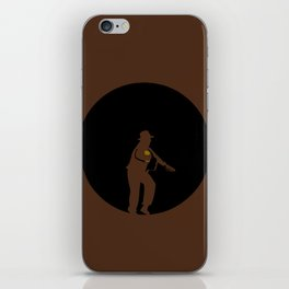 Run Indy Run iPhone Skin