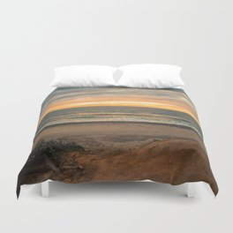 South Carlsbad State Beach Duvet Cover