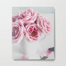 Sunday Rose Metal Print