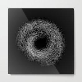Generative Bloom Metal Print