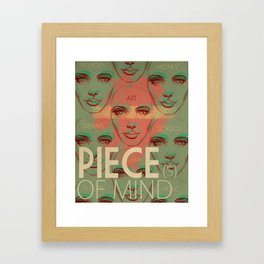Piece(s) of Mind Framed Art Print