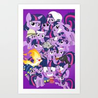 Twilight Sparkle Art Print