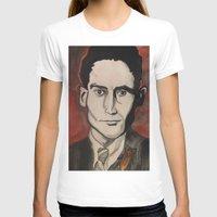 kafka T-shirts featuring Franz Kafka by Emily Storvold