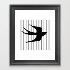 Swallow 1 Framed Art Print