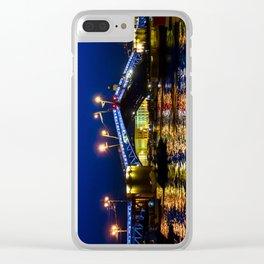 Raising bridges in St. Petersburg Clear iPhone Case