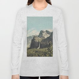 Yosemite Valley Waterfall Long Sleeve T-shirt