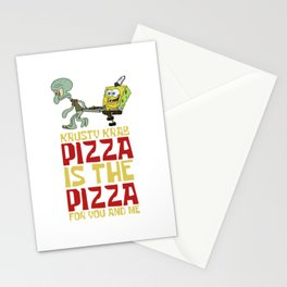 Krusty Krab Delivery Stationery Cards