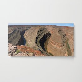 The Goosnecks - A Meander Of The San Juan River Metal Print