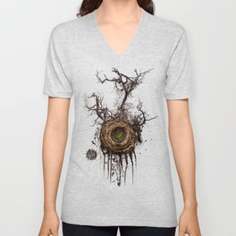 Bird Nest Unisex V-Neck