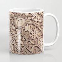 arabic Mugs featuring Arabic Patterns by Laurais Arts