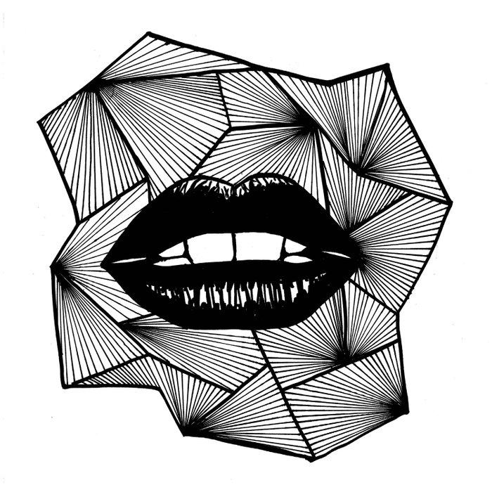 Lips Duvet Cover
