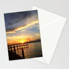 Sitting on the Dock Stationery Cards