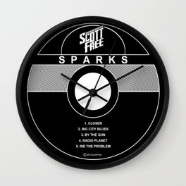Scott Free Sparks EP record label  Wall Clock