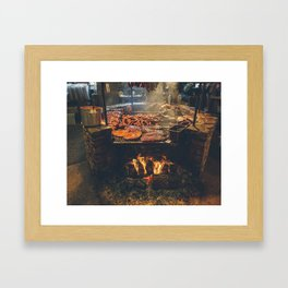 Meatopia at the Salt Lick Framed Art Print