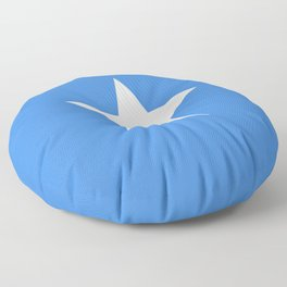 Flag of Somalia - Authentic High Quality image Floor Pillow