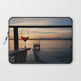 Wine and Whiskey Eve Laptop Sleeve