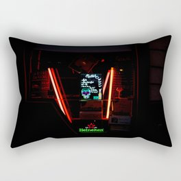 The Parisian Storefront at Midnight Rectangular Pillow