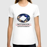 notebook T-shirts featuring Notebook Entertainment by NotebookFilms