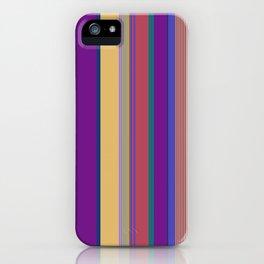 awning stripe iPhone Case