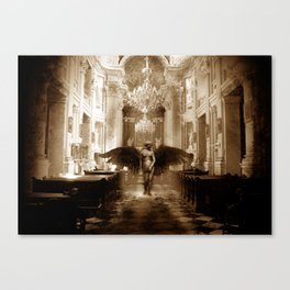 Falling Angel/ Persecution of the Angelic  Canvas Print