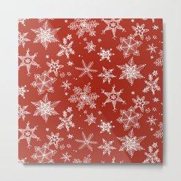 Snow Flakes 06 Metal Print