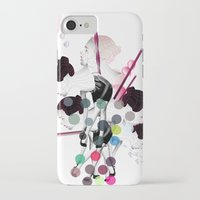 bubbles iPhone & iPod Cases featuring Bubbles by Stéphanie Brusick / Art by shop