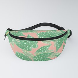 Summer begonia dotted design // California plants design // Part 1 Fanny Pack