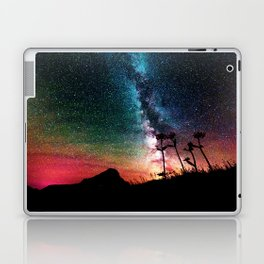 Colorful Milky Way Landscape Laptop & iPad Skin
