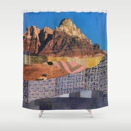 Landscape Collage 3 Shower Curtain