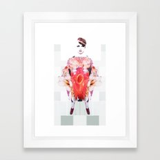 Muffy Framed Art Print