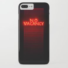 No Vacancy sign in red iPhone 7 Plus Slim Case