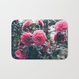 Camellias in Bloom Bath Mat