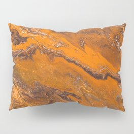 Amber Fire Pillow Sham