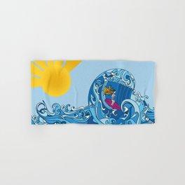 Surfer Girl Hand & Bath Towel