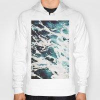 waves Hoodies featuring Waves by Jenna Davis Designs