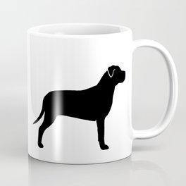 American Pit Bull Terrier Silhouette(s) Coffee Mug