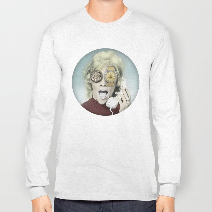 time goes by Long Sleeve T-shirt