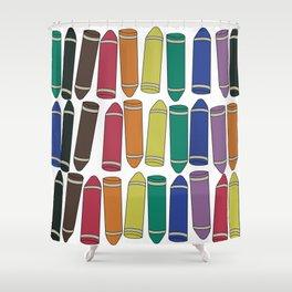 Crayon Box Shower Curtain
