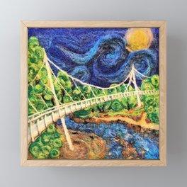 2016 Liberty Bridge Framed Mini Art Print