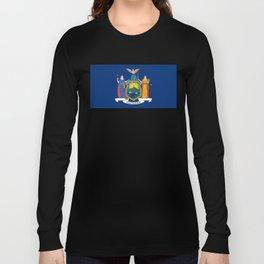 New York State Flag Long Sleeve T-shirt