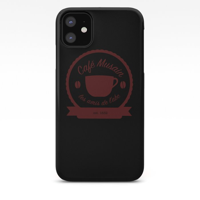 Cafe Musain iphone case