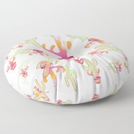 Cactus Family Day Floor Pillow