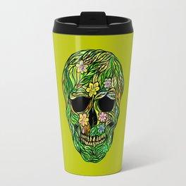 Skull Nature Travel Mug