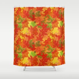 Autumn leaves #17 Shower Curtain