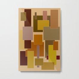 Abstract #383 Metal Print