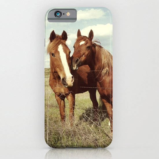 Horse Affection iPhone & iPod Case