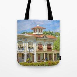 Historic Buildings, Parque Historico, Guayaquil, Ecuador Tote Bag