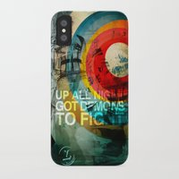 inner demons iPhone & iPod Cases featuring DEMONS by Leonardo Tezcucano