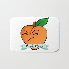 Peach, Please Bath Mat