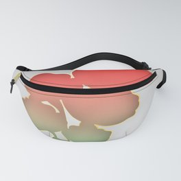 Red and Gold Poppies Fanny Pack